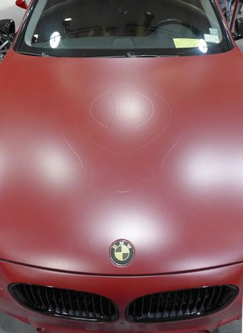 Flat BMW Hood